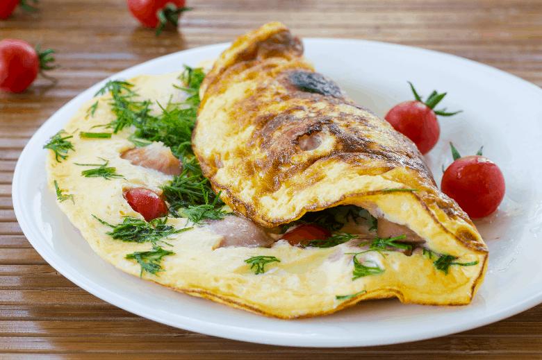 Best pan eggs omelet