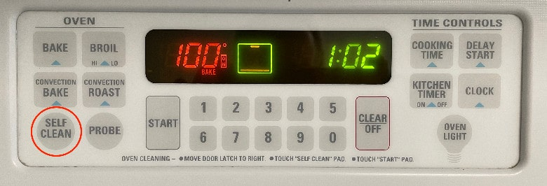 oven controls