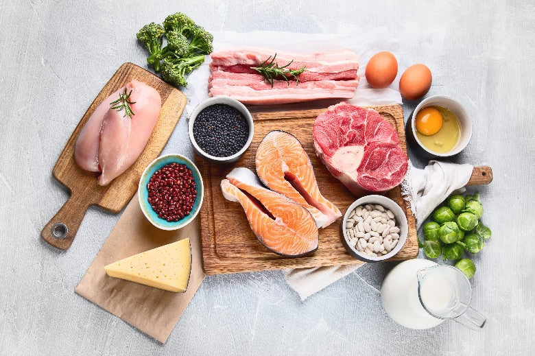 Meal planning proteins