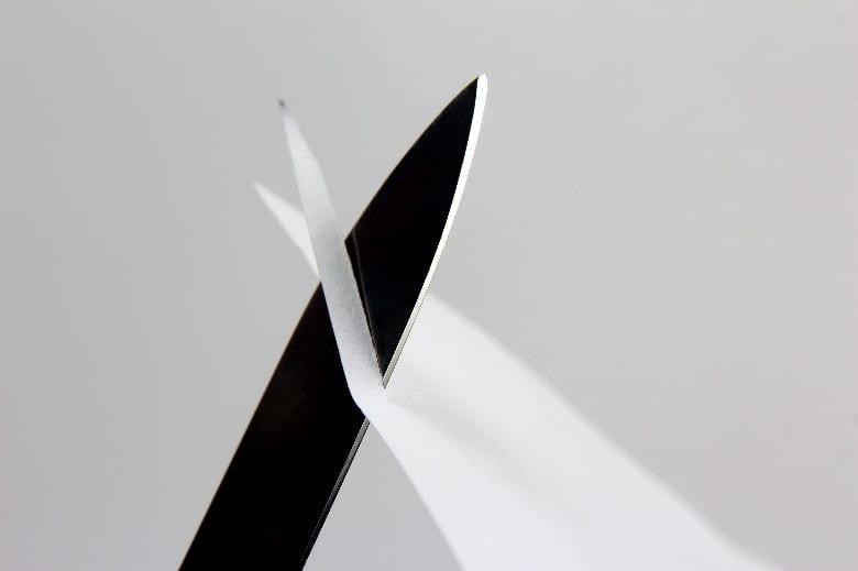 Knife Cutting Paper