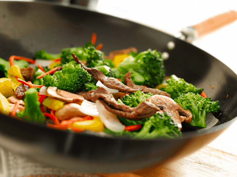 Wok With Beef And Broccoli